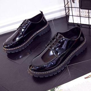 Chariot - 漆皮系带休閒鞋
