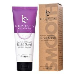 Beauty by Earth - 2-in-1 Exfoliating Facial Scrub & Cleanser