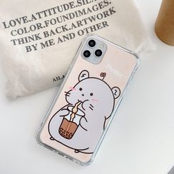 Vachie - Hamster-Print-Handyhülle - iPhone 6 / 6s / 6 Plus / 6s Plus / 7/7 Plus / 8/8 Plus / X / XR / XS / XS MAX / 11/11 Pro / 11 Pro max