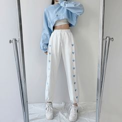 Intrinsica - Embroidered Sweatpants