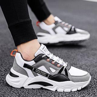 TATALON - 插色系带运动鞋