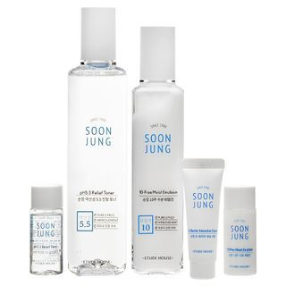 Etude House - Soon Jung Skin Care Set