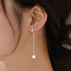 DeerMe - Faux Pearl Dangle Earring