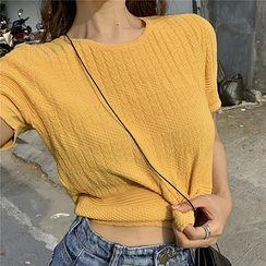 Attune - Short-Sleeve Cropped T-Shirt