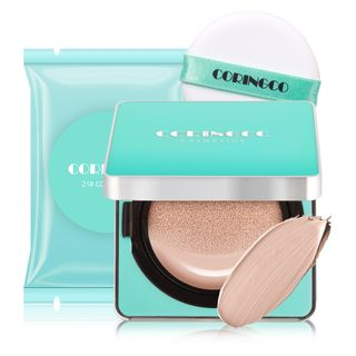CORINGCO - Mint Blossom Cover BB Cushion Set - 3 Colors