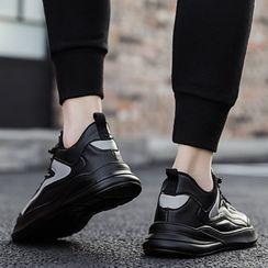 MARTUCCI - 拼色厚底休閒鞋