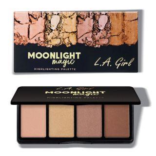 L.A. Girl Cosmetics - Fanatic Highlighting Palette - Moonlight Magic
