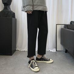YERGO - 散襬修身裤