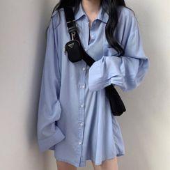 Superduper - Plain Oversized Shirt