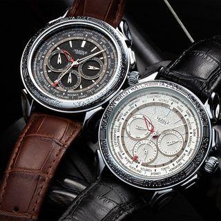 YAZOLE - 六針帶式手錶