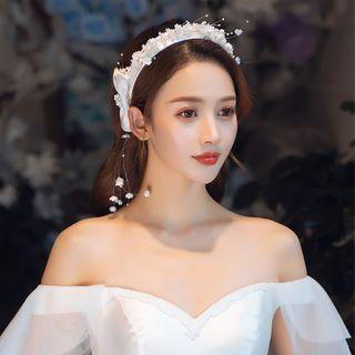la Himi - 婚礼仿珍珠头箍