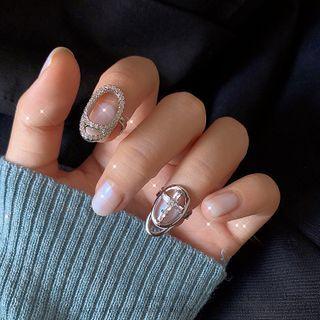 DREN - Alloy Finger Nail Ring