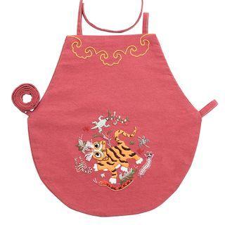 Embroidery Kingdom - Tiger Bib DIY Embroidery Kit
