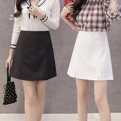 Cherry Dress - Mini A-Line Skirt