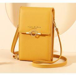 Taomicmic(タオミクミク) - Flap Mobile Phone Crossbody Bag