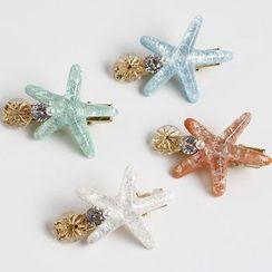 Sesori - Acetate Starfish Hair Clip