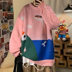 EOW - Printed Sweater