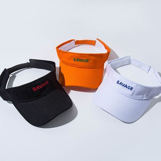 Hat Society - 字母遮阳帽