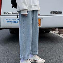 Naideth - 直筒牛仔裤