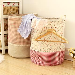 Lazy Corner - Printed Laundry Basket