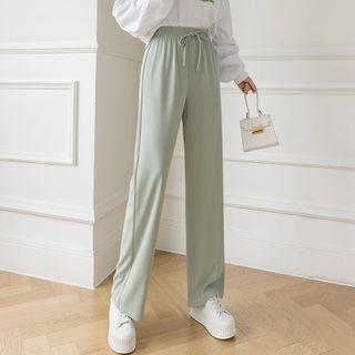 Donnae - Straight-Leg Knit Pants