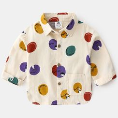 Seashells Kids - Kids Dotted Shirt
