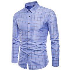 Andrei - Long-Sleeve Plaid Shirt