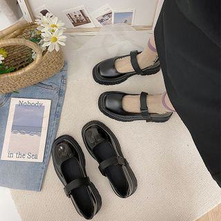 Hipsole(ヒップソール) - Platform Mary Jane Shoes
