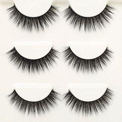 Marlliss - False Eyelashes (3D-42) (3 pairs)