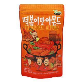 Tom's Farm - Dry Roasted Spicy Tteokbokki Almond 210g