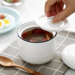 MizzMing - Ceramic Stew Pot with Lid