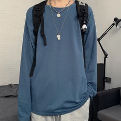 2DAWGS - Long-Sleeve Plain T-Shirt