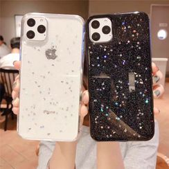 Surono - Glitter Star Mobile Case - iPhone 12 / iPhone 11 Pro Max / 11 Pro / 11 / XS Max / XS / XR / X / 8 / 8 Plus / 7 / 7 Plus / 6s / 6s Plus