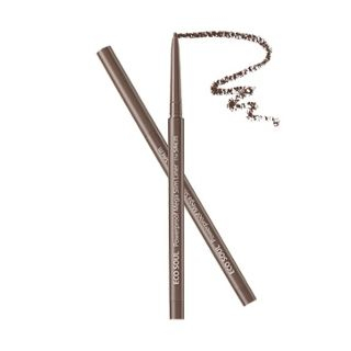 The Saem - Eco Soul Powerproof Mega Slim Liner (#02 Deep Brown)