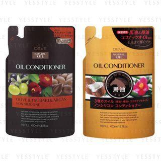 KUMANO COSME - Deve 3 Oil Oil Conditioner Refill 400ml - 2 Types