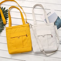 ANEMOI - 纯色帆布手提袋