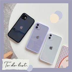Keekulu - Transparent Phone Case - iPhone 13 Pro Max / 13 Pro / 13 / 13 mini / 12 Pro Max / 12 Pro / 12 / 12 mini / 11 Pro Max / 11 Pro / 11 / SE / XS Max / XS / XR / X / SE 2 / 8 / 8 Plus / 7 / 7 Plus