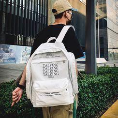 BagBuzz - 情侣款字母背包