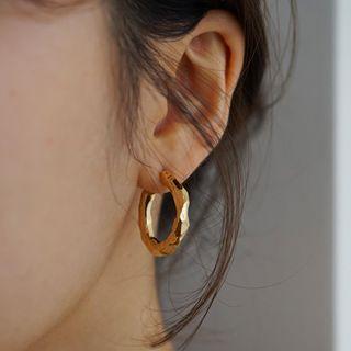 Ticoo - 925 Sterling Silver Mini Hoop Earrings