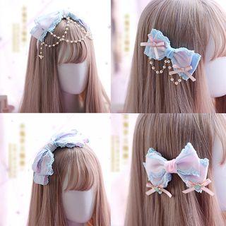 Elfis - 蕾絲髮夾 / 髮圈 / 頭箍 / 貼脖項鏈 / 心心耳飾 (不同款式)