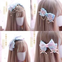 Elfis(エルフィス) - Lace Hair Clip / Hair Tie / Headband / Choker / Flying Heart Earring (various designs)