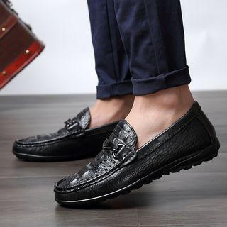 WeWolf - 真皮鳄鱼纹乐福鞋