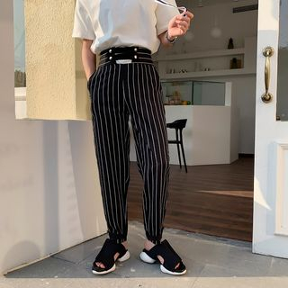 Bjorn - Striped Tapered Pants