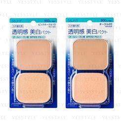 Shiseido - Selfit Pure White Foundation Refill SPF 23 PA++ 13g - 4 Types