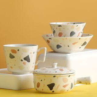 Hashi - 印花陶瓷水杯 / 碗 / 茶壶