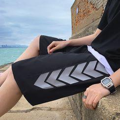 Oakjam - Print Wide Leg Shorts