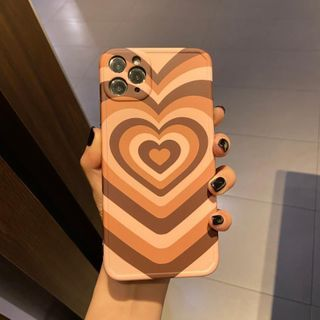 Huella - Heart Wave Phone Case For iPhone SE / 7 / 7 Plus / 8 / 8 Plus / X / XS / XR / XS Max / 11 / 11 Pro / 12 Mini / 12 / 12 Pro / 12 Pro Max