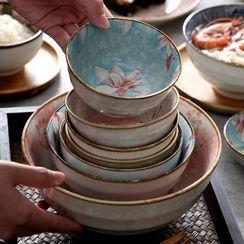 MizzMing - Floral Print Ceramic Bowl