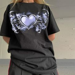 Sosana - Oversized Printed T-Shirt