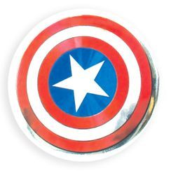 T'S Factory - MARVEL Portable Round Mirror (Captain America)